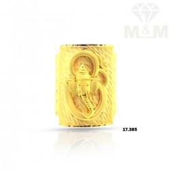 Dainty Gold Ganesha Ring