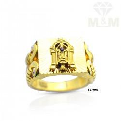 Strange Gold Balaji Ring