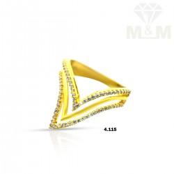 Elegance Gold Casting Ring