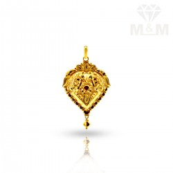 Niceness Gold Fancy Pendant