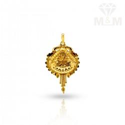 Amiably Gold Fancy Pendant