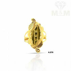 Distinction Gold Fancy Ring
