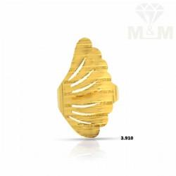 Nonpareil Gold Fancy Ring