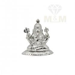 Divine Silver Vinayagar Statue