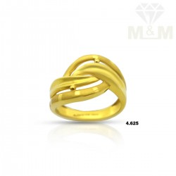 Captivating Gold Fancy Ring
