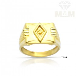 Delectable Gold Casting Ring