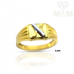 Ethereal Gold Casting Ring