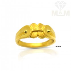 Luxurious Gold Casting Ring