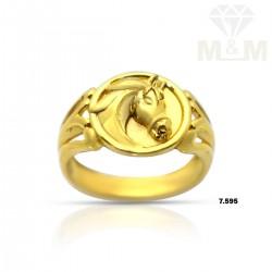 Pleasant Gold Casting Horse...