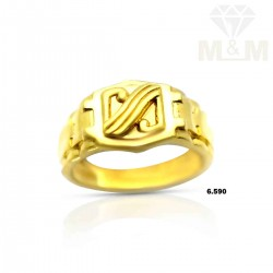 Tremendous Gold Casting Ring