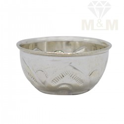 Alluring Silver Fancy Bowl