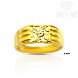 Captivating Gold Casting Ring
