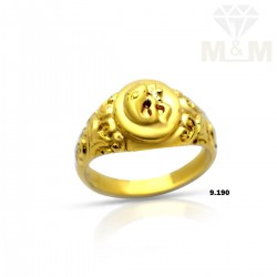 Classy Gold Casting Ring