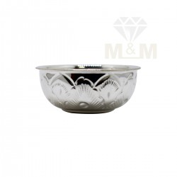 Wondrous Silver Fancy Bowl