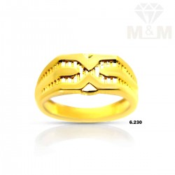 Tranquil Gold Casting Ring