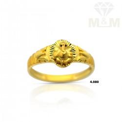 Delectable Gold Ganesha Ring