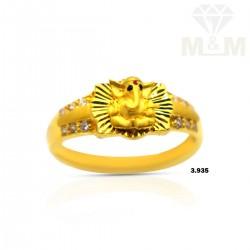 Sumptuous Gold Ganesha Ring