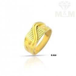 Vibrant Gold Casting Ring