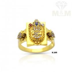 Dazzling Gold Stone Balaji...