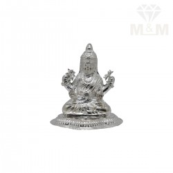 Captivating Silver Lakshmi...