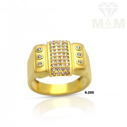 Luxuriant Gold Casting Ring