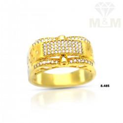 Vivacious Gold Casting Ring