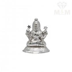 Polite Silver Lakshmi Statue