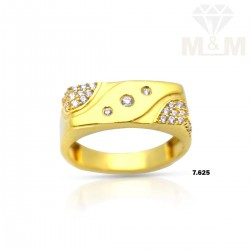 Brilliantly Gold Casting Ring