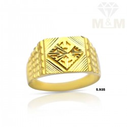 Formidable Gold Casting Ring