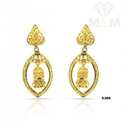 Superior Gold Fancy Earring