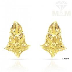 Culture Gold Fancy Earring