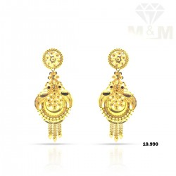 Lambent Gold Fancy Earring