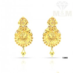 Formidable Gold Fancy Earring