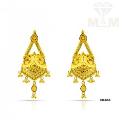 Historical Gold Fancy Earring