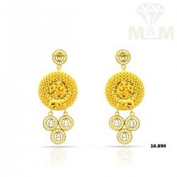 Sublime Gold Fancy Earring