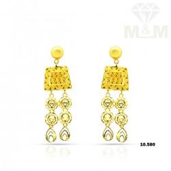 Medieval Gold Fancy Earring