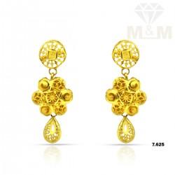 Tradition Gold Fancy Earring