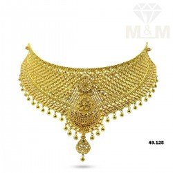 Celebrated Gold Fancy Necklace