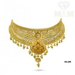 Captivate Gold Fancy Necklace