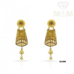 Alluring Gold Fancy Earring