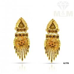 Delectable Gold Fancy Earring