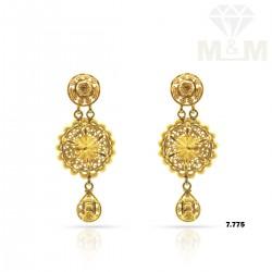 Blessed Gold Fancy Earring