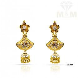 Fortunate Gold Fancy Earring