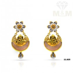 Auspicious Gold Fancy Earring