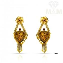 Niceness Gold Fancy Earring