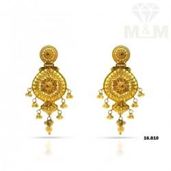 Gratify Gold Fancy Earring