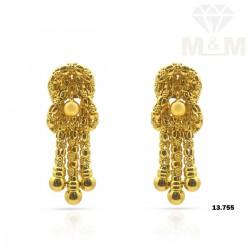 Fantastical Gold Fancy Earring