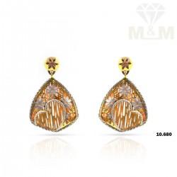 Tremendous Gold Fancy Earring