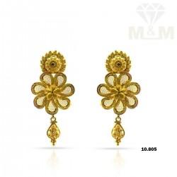 Optimum Gold Fancy Earring