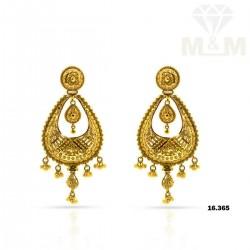 Extraordinary Gold Fancy Earring
